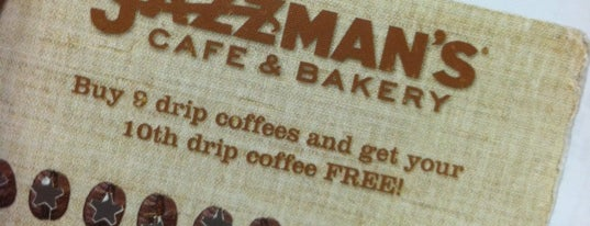 Jazzman's Cafe & Bakery is one of Coffee & Cafe's.