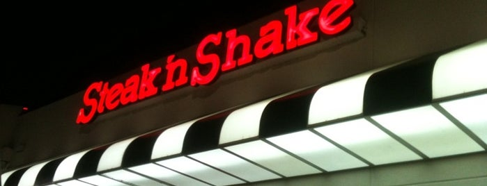 Steak 'n Shake is one of Orte, die Wallace gefallen.