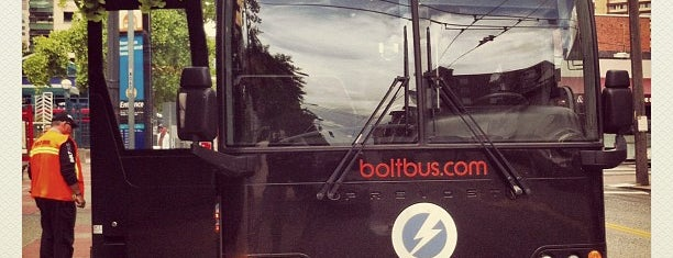 BoltBus Stop is one of สถานที่ที่ Corey ถูกใจ.
