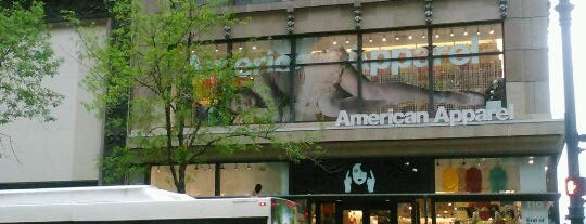 American Apparel is one of Chicago.