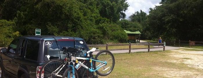 Polk City Trailhead Van Fleet Trail is one of Things To Do.