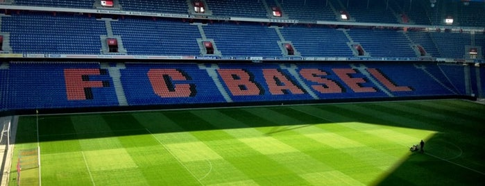 St. Jakob Park is one of Events To Visit....