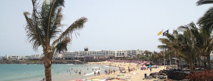 Playa de las Cucharas is one of Lanzarote, Spain.