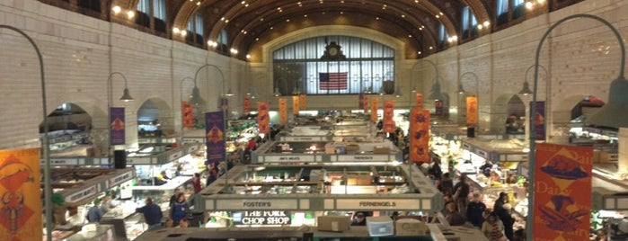 West Side Market is one of Celebrate Cleveland, Rock & Roll Style!.