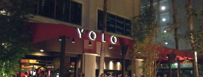 YOLO is one of Been there and did the damn thing!.