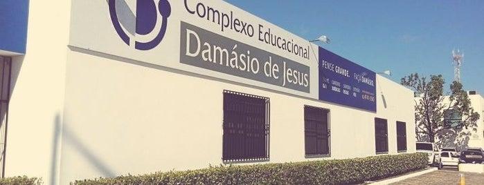 Damásio is one of Locais curtidos por Caio.