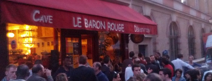 Le Baron Rouge is one of The VERY best wine bars in Paris.