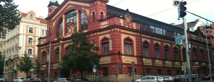 Vinohradský Pavilon is one of Bee Heere.