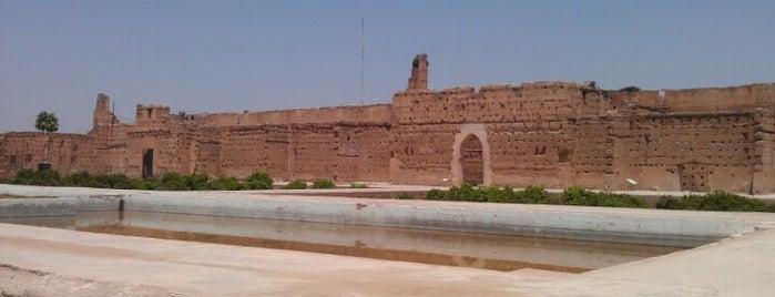 Palais El Badii is one of Morocco.