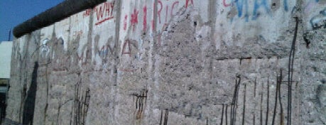 Baudenkmal Berliner Mauer | Berlin Wall Monument is one of Trips / Berlin, Germany.