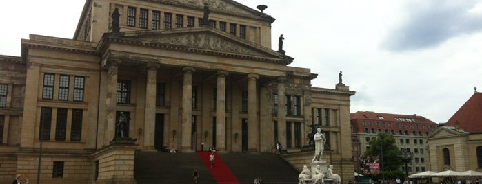 Gendarmenmarkt is one of StorefrontSticker #4sqCities: Berlin.