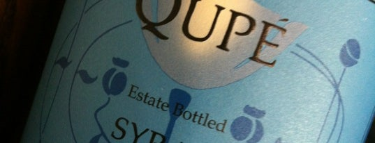 Qupé Tasting Room is one of Santa Barbara Wineries.