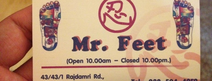 Mr. Feet is one of Thailand.