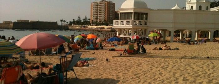 Playa de La Caleta is one of Favourite Places.