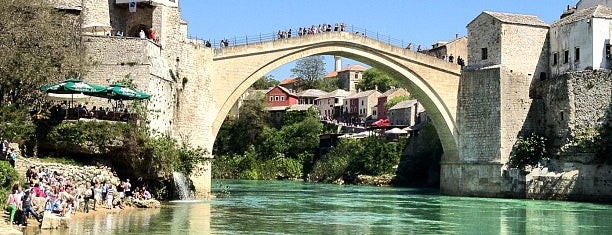 Stari Most | Old Bridge is one of Locais curtidos por Talha.