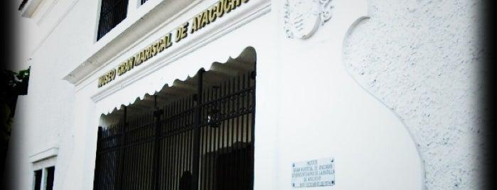 Museo Gran Mariscal de Ayacucho is one of Sitios Históricos y Culturales de Cumaná.