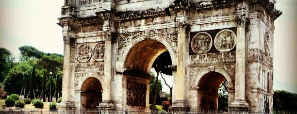 Arco di Costantino is one of Rome 2013.