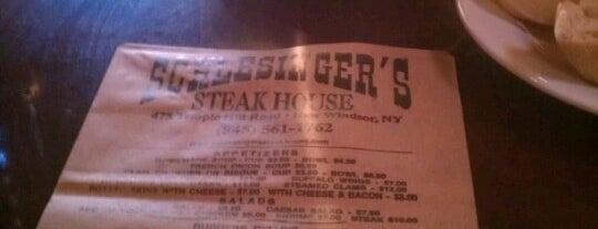 Schlesinger's Steak House is one of Lorraine'nin Kaydettiği Mekanlar.