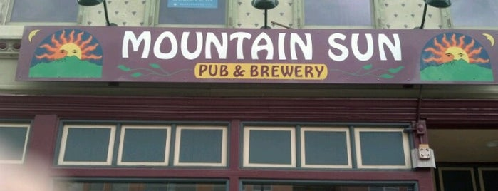Mountain Sun Pub & Brewery is one of Colorado.