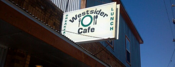 The Westsider Cafe is one of Lieux sauvegardés par Josh.