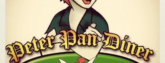 Peter Pan Diner is one of Orte, die kimberly gefallen.