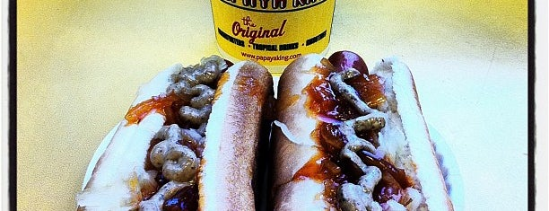 Papaya King is one of The City's Best Hot Dogs.
