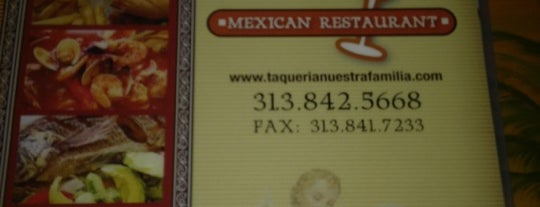 Taqueria Nuestra Familia is one of Dark Rye Detroit: Eat and Drink.
