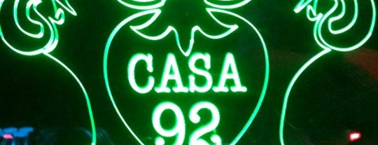 Casa 92 is one of Bares.