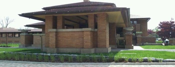 Darwin Martin House is one of Frank Lloyd Wright.