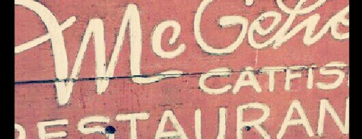McGehee Catfish Restaurant is one of Locais curtidos por Brett.