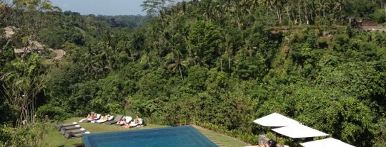 Alila Ubud is one of Katerina's Saved Places.