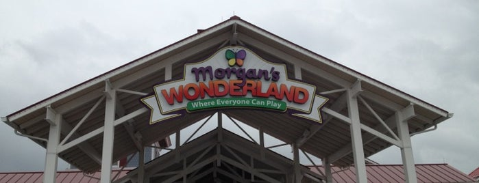 Morgan's Wonderland is one of StorefrontSticker #4sqCities: San Antonio.
