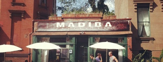 Madiba Restaurant is one of clinton hill.