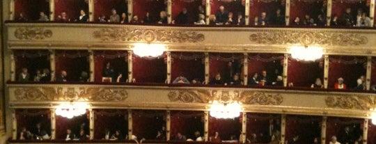 Teatro alla Scala is one of Milano.