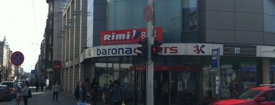 """Rimi """"Barona centrs"""" is one of Riga."""