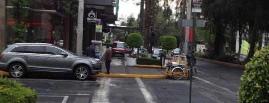 Av. Presidente Masaryk is one of Food & Fun - Ciudad de Mexico.