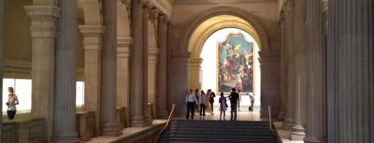 The Great Hall is one of New York, New York.
