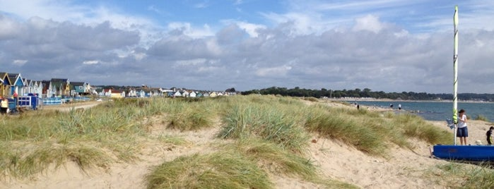 Mudeford Spit Beach is one of The UK's Best Sandy Beaches.