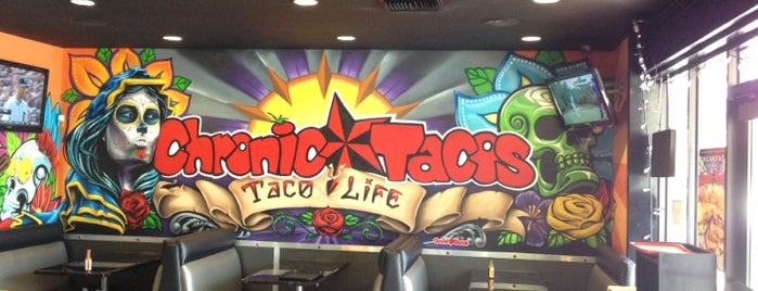Chronic Tacos is one of Aliso Viejo from 1,5,10 miles out.