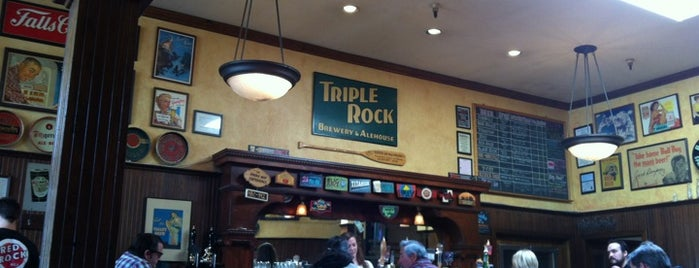 Triple Rock Brewing Co. is one of Beer-Bar-Brew-Breweries-Drinks.