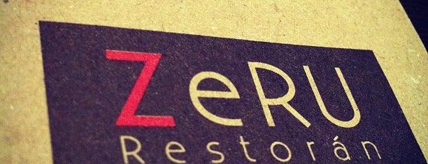 ZERU RESTAURANTE is one of xtc.