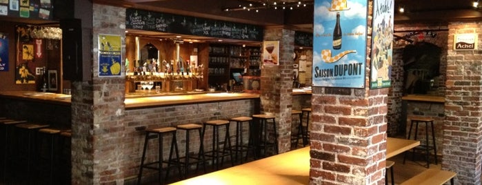 Novare Res Bier Cafe is one of 54 Bars Where It's Raining Men.