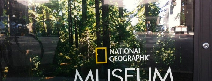 National Geographic Museum is one of DC Bucket List 2.