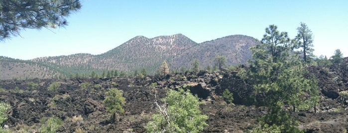 Sunset Crater Volcano National Monument is one of Historic Route 66.