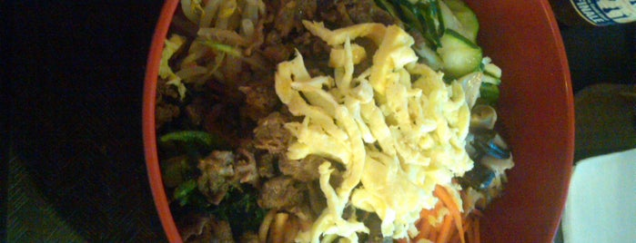 Sushi and Bibimbap is one of Wash DC To Do.