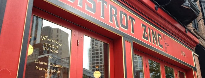 Bistrot Zinc is one of Chicago.