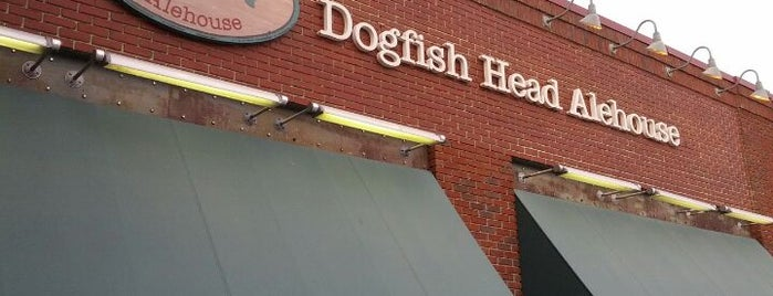 Dogfish Head Alehouse is one of Virginia.