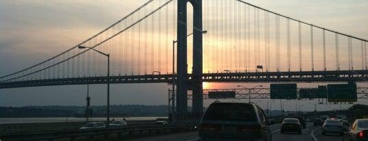 Verrazzano-Narrows Bridge Toll Plaza is one of Views & Sights NY.