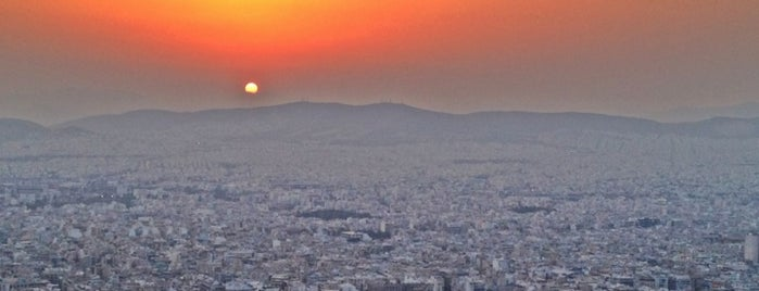 Lycabettus Hill is one of ATHENS.