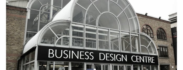 Business Design Centre is one of KEEP CALM AND ENJOY LONDON.